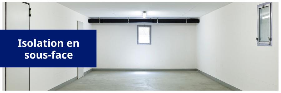 isolation garage par le plafond