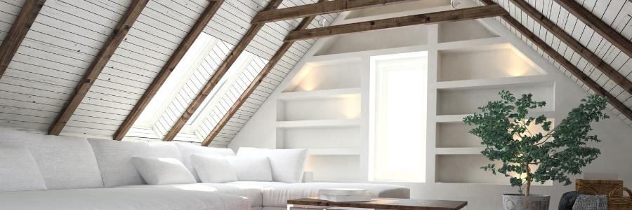 isolation et finitions combles aménageables par intérieur