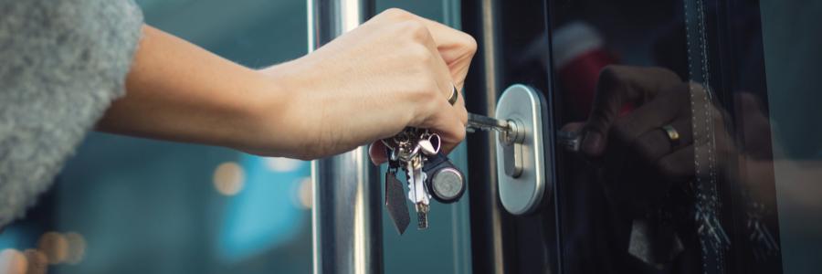 La sécurité, un élément important de la porte d'extérieur
