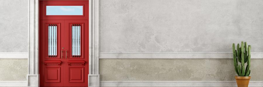 Quelle est la meilleure porte : pleine, vitrée ou semi-vitrée ?