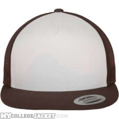 Classic Trucker Brown/White/Brown vorne