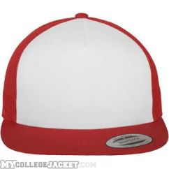 Classic Trucker Red/White/Red vorne