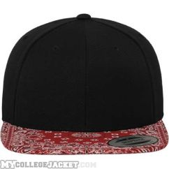 Bandana Snapack Black/Red vorne