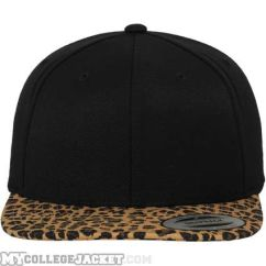 Animal Snapback Black/Leopard vorne