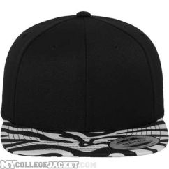 Animal Snapback Black/Zebra vorne