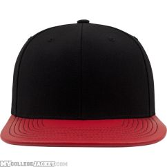 Metallic Visor Snapback Red vorne