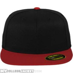 Premium 210 Fitted 2-Tone Black Red vorne