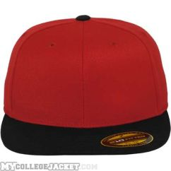 Premium 210 Fitted 2-Tone Red Black vorne