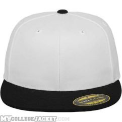 Premium 210 Fitted 2-Tone White Black vorne