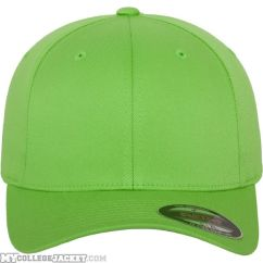 Flexfit Wooly Combed Fresh Green vorne
