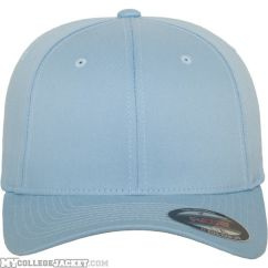 Flexfit Wooly Combed Carolina Blue vorne