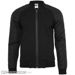 Diamond Nylon Sweatjacket Front