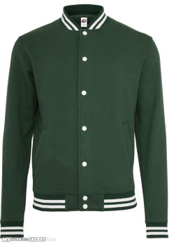 College Sweatjacket Forest Front