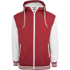 University Windbreaker Ruby/White Front
