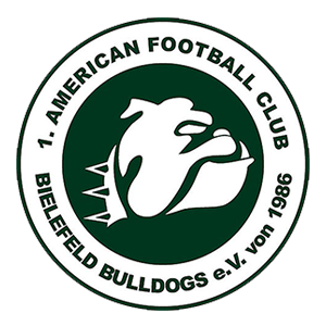 1. AFC Bielefeld Bulldogs e.V. Logo