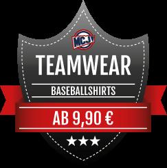 Teamwear Angebot Baseballshirts