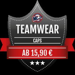 Teamwear Angebot Caps