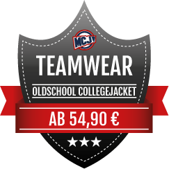 Teamwear Angebot Oldschool Collegejackets