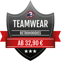 Teamwear Angebot Retrohoodies