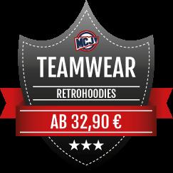Teamwear Angebot Retrohoodies