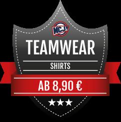 Teamwear Angebot Shirts
