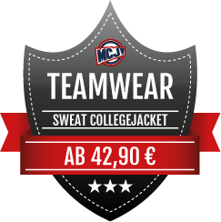 Teamwear Angebot Sweat Collegejackets
