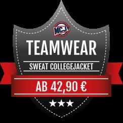 Teamwear Angebot Sweat Collegejackets