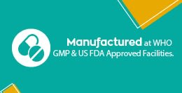 WHO GMP and FDA Approved