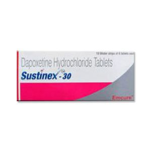 Sustinex 30mg Dapoxetine Tablets