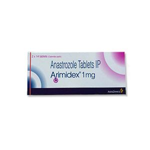 Arimidex Anastrozole 1mg Tablets