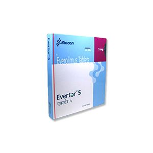 Evertor 5mg- Everolimus Tablet