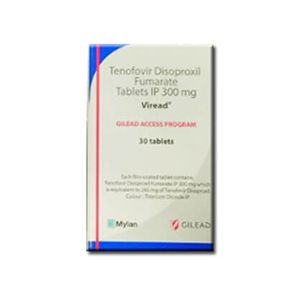 Viread : Gilead Tenofovir 300 mg Tablet 30'S