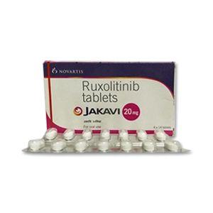 Jakavi 20 mg Ruxolitinib Tablets Novartis