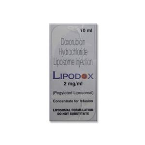 Lipodox Doxorubicin 2 mg Injection