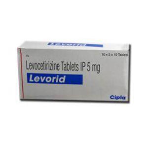 Levorid Levocetirizine 5 mg Tablets