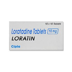 Loratin Loratadine 10 mg Tablets