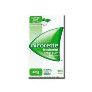 Nicorette Nicotine 4 mg Chewing Gum