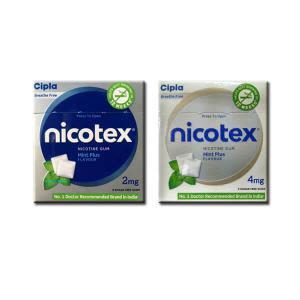 Nicotex Nicotine Chewing Gum