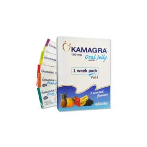 Kamagra Oral Jelly Week Pack