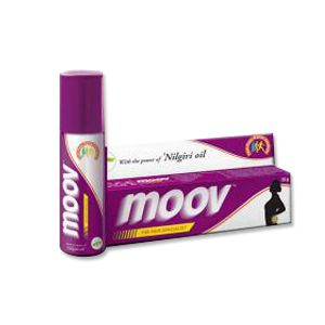 Moov Cream and Spray