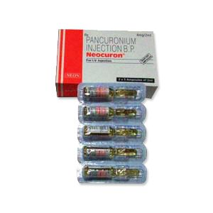 Neocuron Pancuronium 4 mg Injection