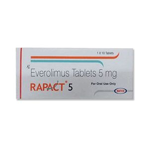 Rapact 5 mg Everolimus Tablets