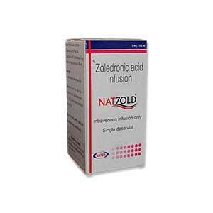 NATZOLD Zoledronic 5 mg Injection
