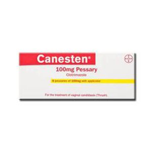 Canesten Vaginal Clotrimazole 100 mg Tablets