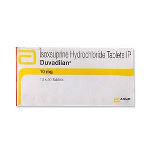 Duvadilan Isoxsuprine 10 mg Tablets