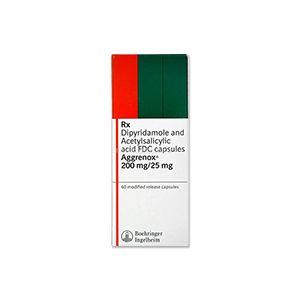 Aggrenox 25 mg/200 mg Capsules