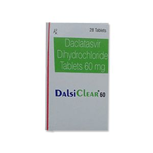Dalsiclear : Daclatasvir 60 mg Tablets 28'S