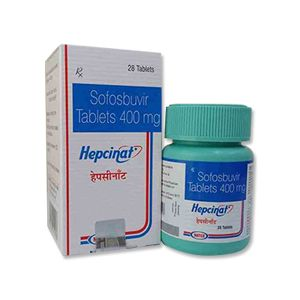 Hepcinat Sofosbuvir 400mg Tablet