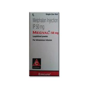 Melphalan 50mg Megval Injection