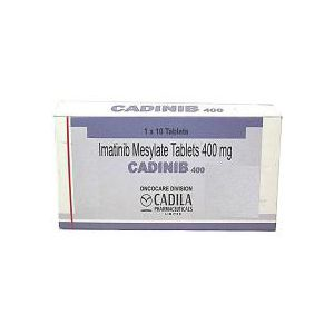 Cadinib Imatinib 400 mg Tablets